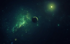Picture space, stars, space, planet, case zeraphine