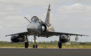 Picture fighter, the airfield, multipurpose, Dassault Mirage, 2000D