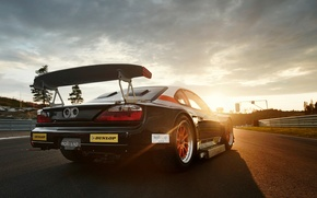 Picture the sky, sunset, tuning, track, nissan, drift, tuning, silvia, speedhunters, drirt