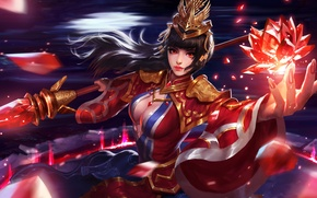 Picture girl, MAG, Heroes of Newerth, Da Qiao Ellonia