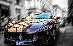 Picture the city, Maserati, blur
