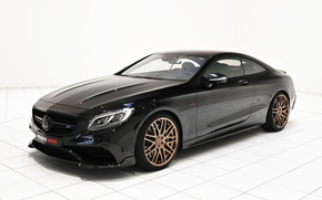 Picture Mercedes-Benz, Brabus, Mercedes, AMG, Coupe, BRABUS, AMG, S 63, Benz, 2015, C217