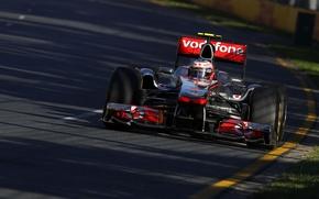 Picture McLaren, 2011, Australia, Jenson Button, Jenson Button, Grand Prix of Australia