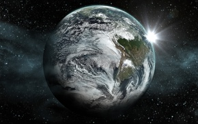 Picture space, stars, planet, space, stars, planet, exoplanet, kepler 452b