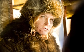 Picture actress, character, Jennifer Jason Leigh, Daisy Domergue, Disgusting Eight