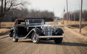 Picture convertible, 1931, Cabriolet, Horch, Horch