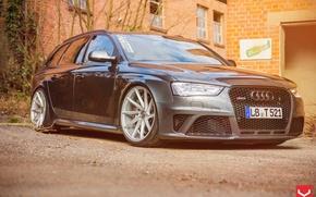 Picture Audi, Audi, RS4, vossen wheels