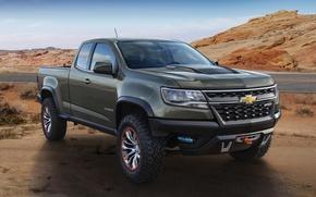 Picture photo, Chevrolet, car, metallic, Colorado, 2015, ZR2
