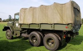 Picture car, 1957, cargo, high, patency, 5 ton, M 35