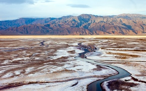 Picture landscape, Death Valley, Califorina, National Park
