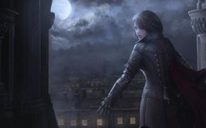 Picture black, art, deviantart, assassin, assassin, Assassin's Creed Syndicate, Evie