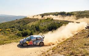 Picture Dust, Volkswagen, Landscape, WRC, Volkswagen, Polo