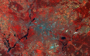 Picture Germany, Berlin, Earth From Space, Sentinel-2A
