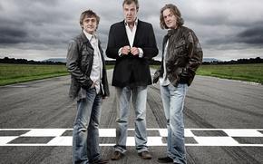 Wallpaper Jeremy Clarkson, Richard Hammond James May, Top Gear