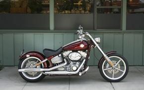 Picture Motorcycle, Harley Davidson, Chopper, Rocker C