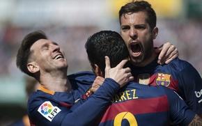 Picture joy, football, club, goal, players, players, football, Barcelona, Barcelona, Messi, La Liga, Peak, Luis Suarez, …