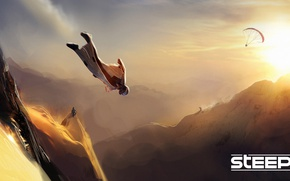 Picture Snow, Freestyle, Wingsuit, Ubisoft Kiev, Steep