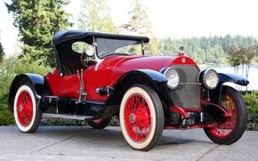 Picture auto, retro, car, 1920, stutz series h bearcat