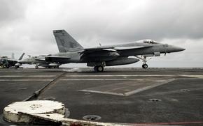 Picture weapons, army, FA-18E Super Hornet, USS George Washington (CVN 73)
