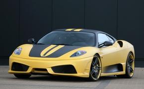 Picture yellow, Wallpaper, Ferrari, ferrari f430