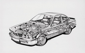 Picture transparency, bmw, scheme, device