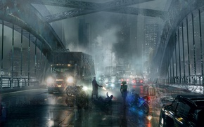 Picture car, Concept, city, cinema, gun, Art, weapon, truck, movie, hero, film, DC Comics, yuusha, Suicide …