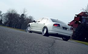 Picture Audi, Audi, White, Tuning