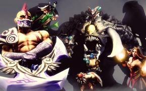 Picture Bloodseeker, Dota 2, Lina, Meepo, Rubick