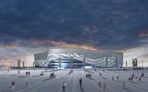 Picture Iceberg, the project, Sochi, Ice Palace, Olympic Park