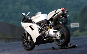 Wallpaper motorcycle, sport, ducati, road road