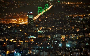 Picture night, Istanbul, Turkey, night, Istanbul