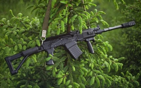 Picture samozarjadnyj, 12 gauge, muzzle brake, spruce, Vepr 12, strap, shotgun, Hammer, the handle, clip