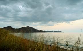Picture sea, nature, Crimea, Bay