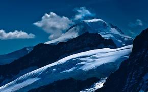 Picture landscape, mountains, nature