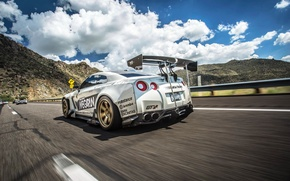 Picture car, tuning, nissan, in motion, tuning, gt-r