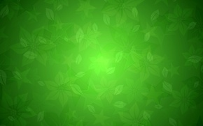 Picture leaves, abstraction, pattern, star