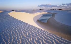 Picture sand, desert, Brazil
