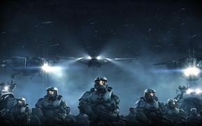 Wallpaper Action, Halo, Wars