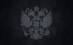 Picture Eagle, Coat of arms, Russia