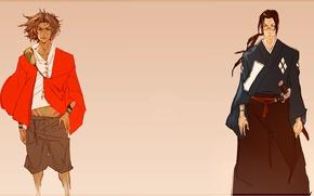 Picture anime, art, guys, Mugen, samurai champloo, Jin