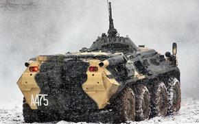 Wallpaper BTR, snow, winter