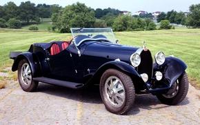 Picture retro, Bugatti, Bugatti, the front, 1930, Type 43, Sports Four Seater