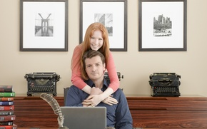 Picture the series, Nathan Fillion, Castle, Molly C. Quinn