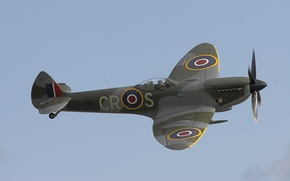 Picture Supermarine Spitfire, RAF, Supermarine Spitfire, English fighter of the Second world war