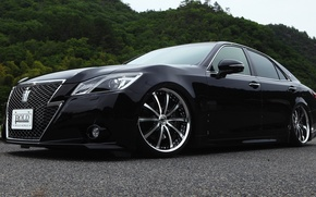 Picture Toyota, Toyota, Crown, 2014, Athlete, crown, S210, Bold World