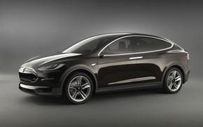 Picture car, Tesla, electromobile, Motors, Model X