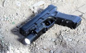 Picture gun, weapons, Glock 17, Austrian, self-loading