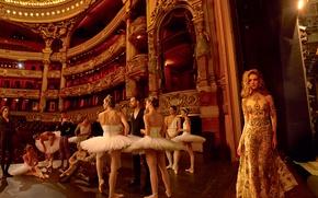 Picture theatre, ballet, Natalia Vodianova, ballerina