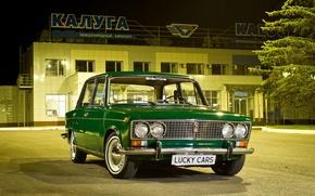 Picture auto, retro, Girl, Airport, girl, penny, 2101, VAZ, Airport, Kaluga, Kaluga, #flooring, Lucky Cars