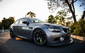 Picture BMW, BMW, before, grey, E92